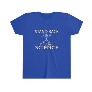 I'm Doing Science Youth Short Sleeve Tee