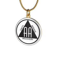 Load image into Gallery viewer, AA Single Loop Necklace