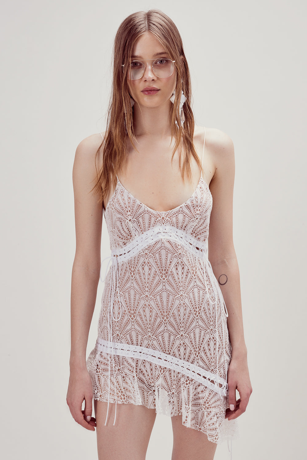 Dakota Lace Midi Dress For Love Lemons