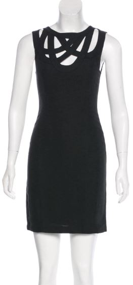 Adam Lippes Black Dress Size 0