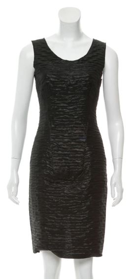 Dolce and Gabbana Black Shimmery Dress Size 4