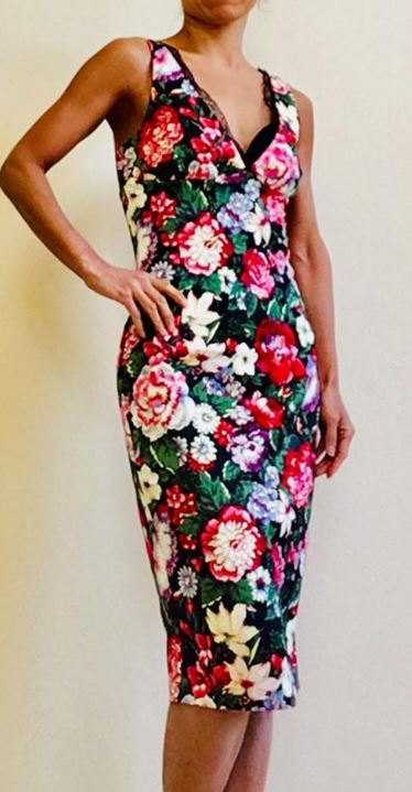 Dolce and Gabbana Floral Dress Size 6-8