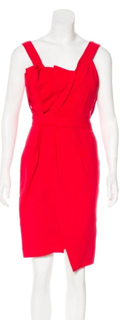 Fendi Red Dress Size 2