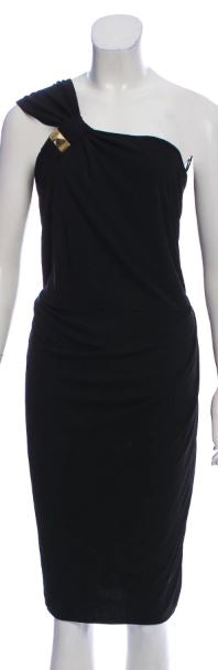 Gucci Black Dress with Gold Hardware Size 4-6