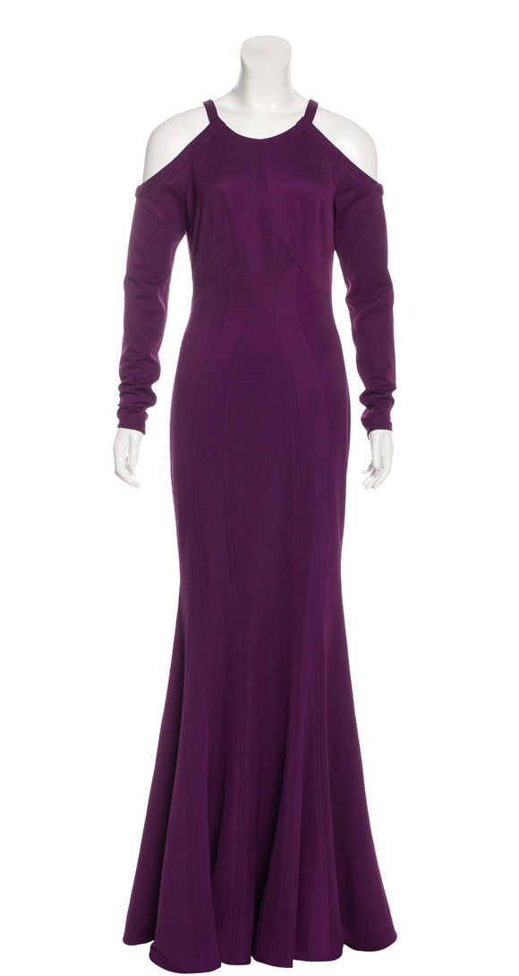 Zac Posen Purple Evening Gown Size 4-6