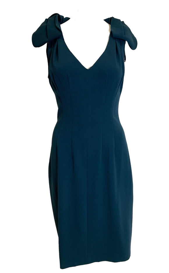 Prada Blue Green Dress Size 2-4