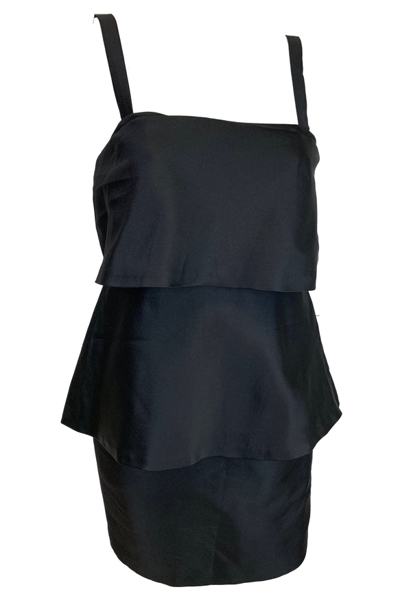Moschino Black Dress Size 6-8