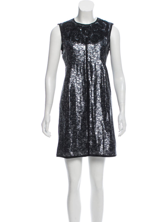 Marc Jacobs for Bergdorf Goodman Silver Dress Sz 2-4
