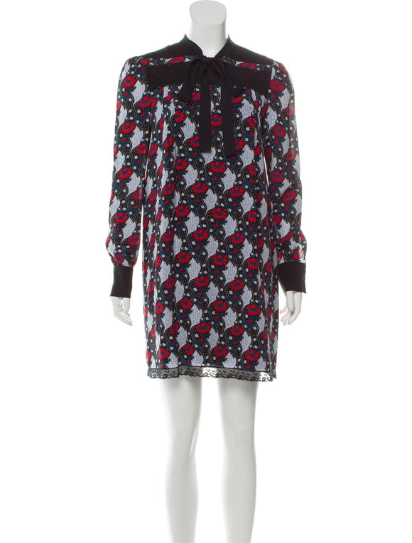 Prada Print Dress Size 2-4