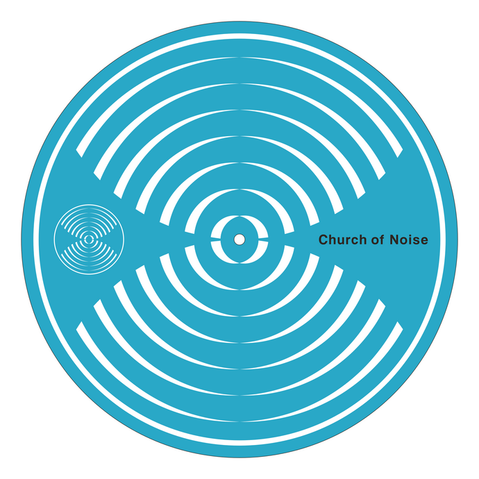 Church of Noise Turntable Slipmat