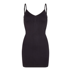 Load image into Gallery viewer, NINNA-SLIP-DRESS - BLACK