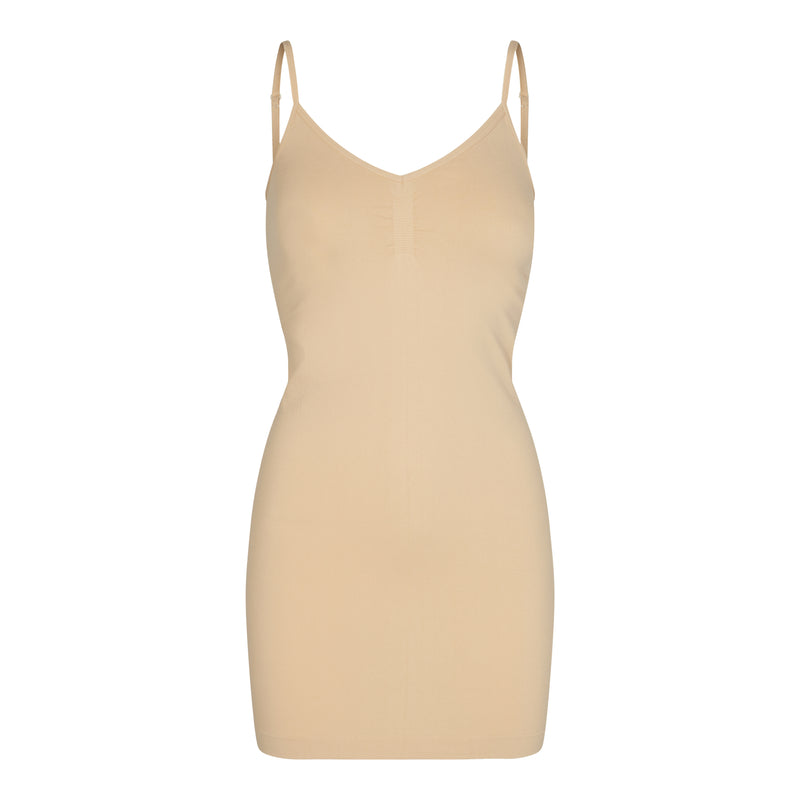 NINNA-SLIP-DRESS - NUDE