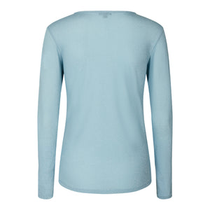 Load image into Gallery viewer, HALLEY-BLOUSE - BLUE HAZE