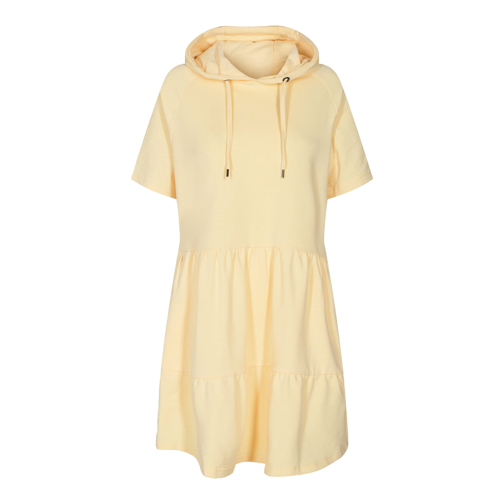 MELISSA-SS-DRESS - PASTEL YELLOW