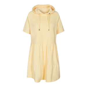 Load image into Gallery viewer, MELISSA-SS-DRESS - PASTEL YELLOW