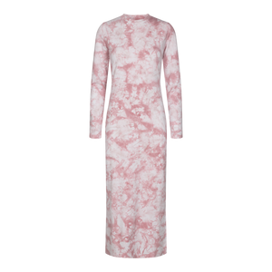 Load image into Gallery viewer, SOFIA LS DRESS - ROSE TIE DYE
