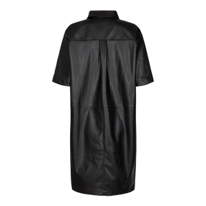 Load image into Gallery viewer, SIGI SHIRT DRESS - BLACK