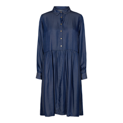 SANDRA DRESS - INDIGO BLUE