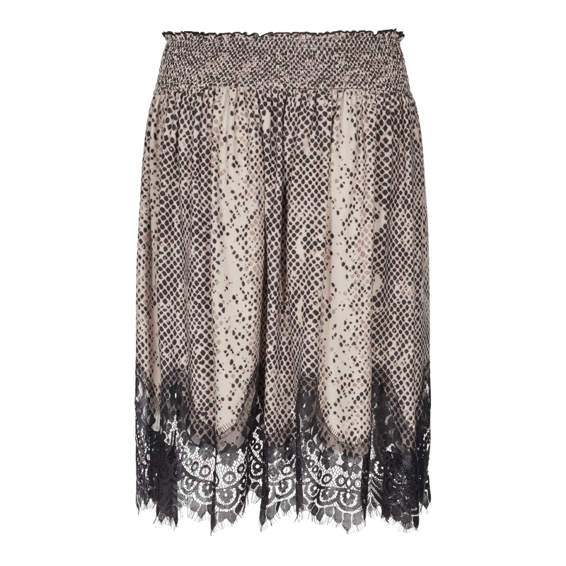 ALMA-LACE-SKIRT - SNAKE