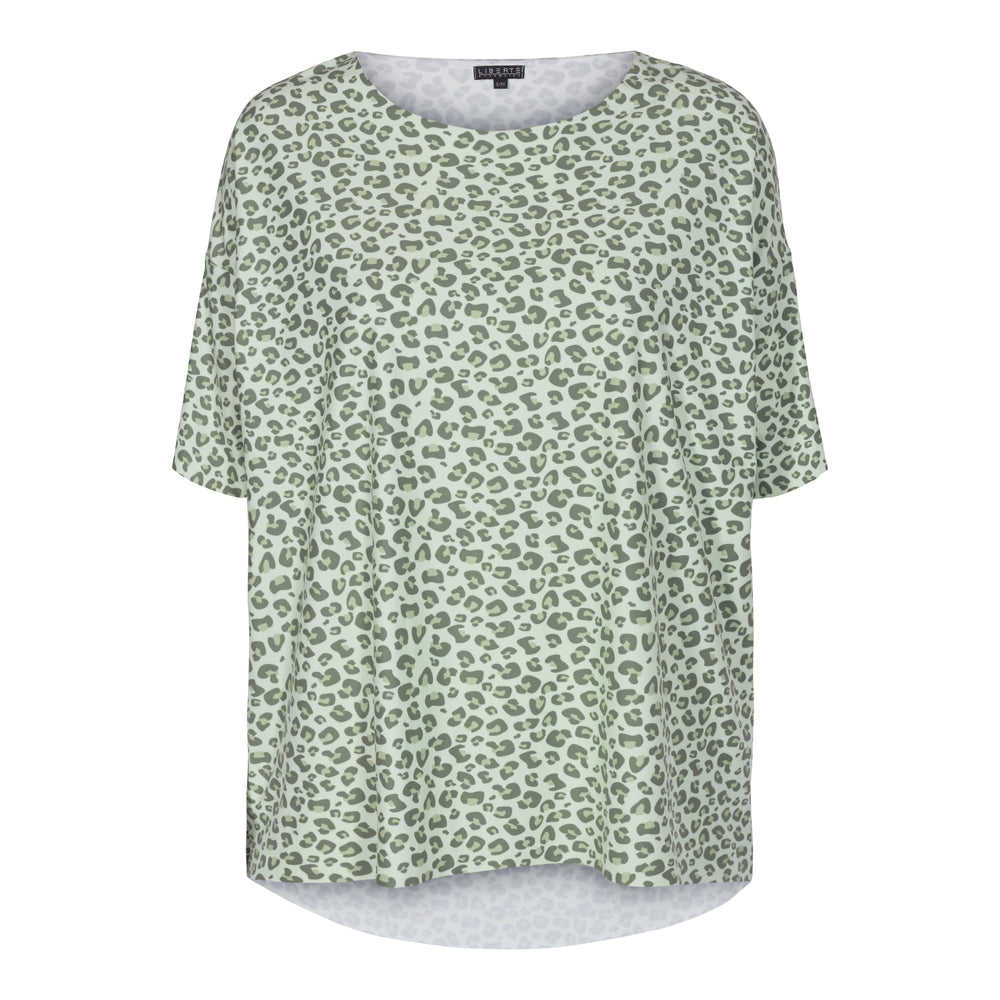 ALMA-T-SHIRT - MINT LEO