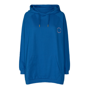Load image into Gallery viewer, PENNY OVERSIZE HOODIE - CLASSIC BLUE