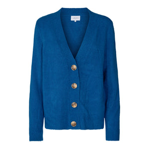 Load image into Gallery viewer, BIBI CARDIGAN - CLASSIC BLUE