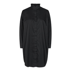 Load image into Gallery viewer, SUSAN LS FRILL COLLAR SHIRT - BLACK