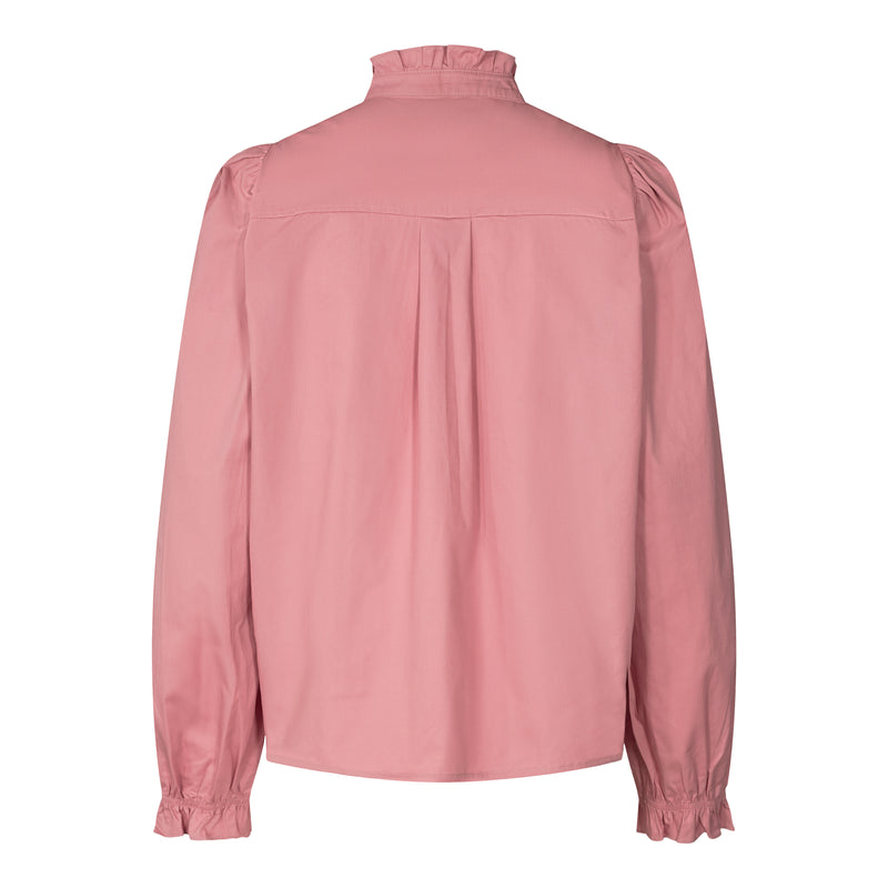 TOANNA LS SHIRT - ROSE