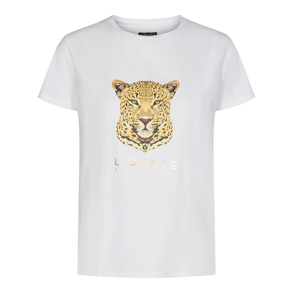 Load image into Gallery viewer, GINGER-T-SHIRT (HEAD) - WHITE