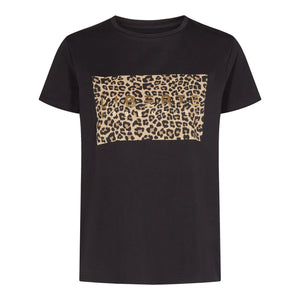 Load image into Gallery viewer, GINGER-T-SHIRT - BLACK