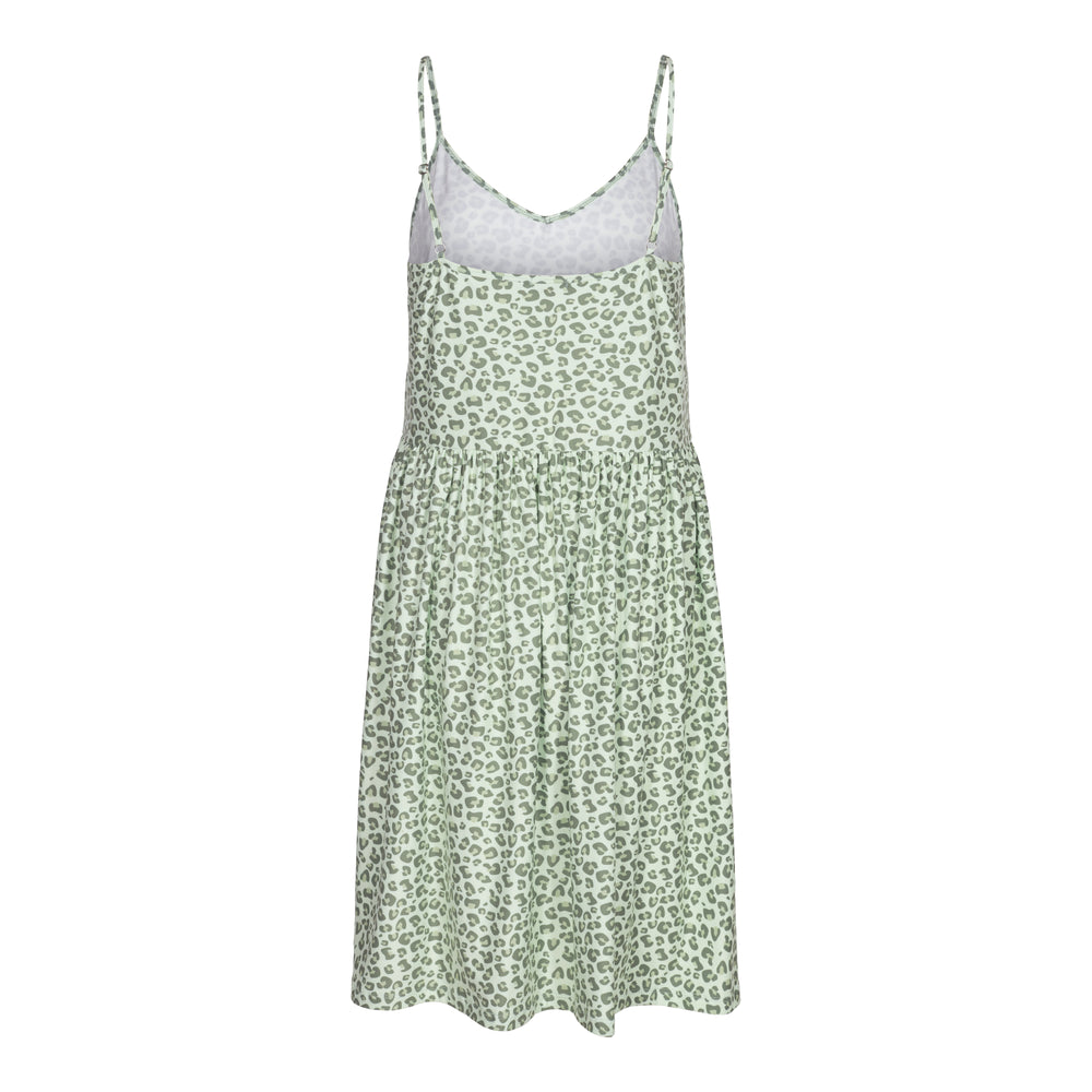 Load image into Gallery viewer, ALMA-FRILL-SLIP-DRESS - MINT LEO