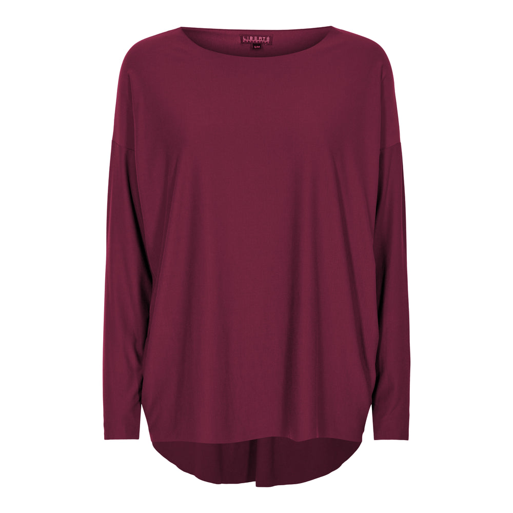 Load image into Gallery viewer, ALMA-LS-TOP - BURGUNDY