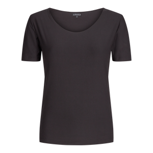 Load image into Gallery viewer, ALMA-SLIMFIT-T-SHIRT - BLACK
