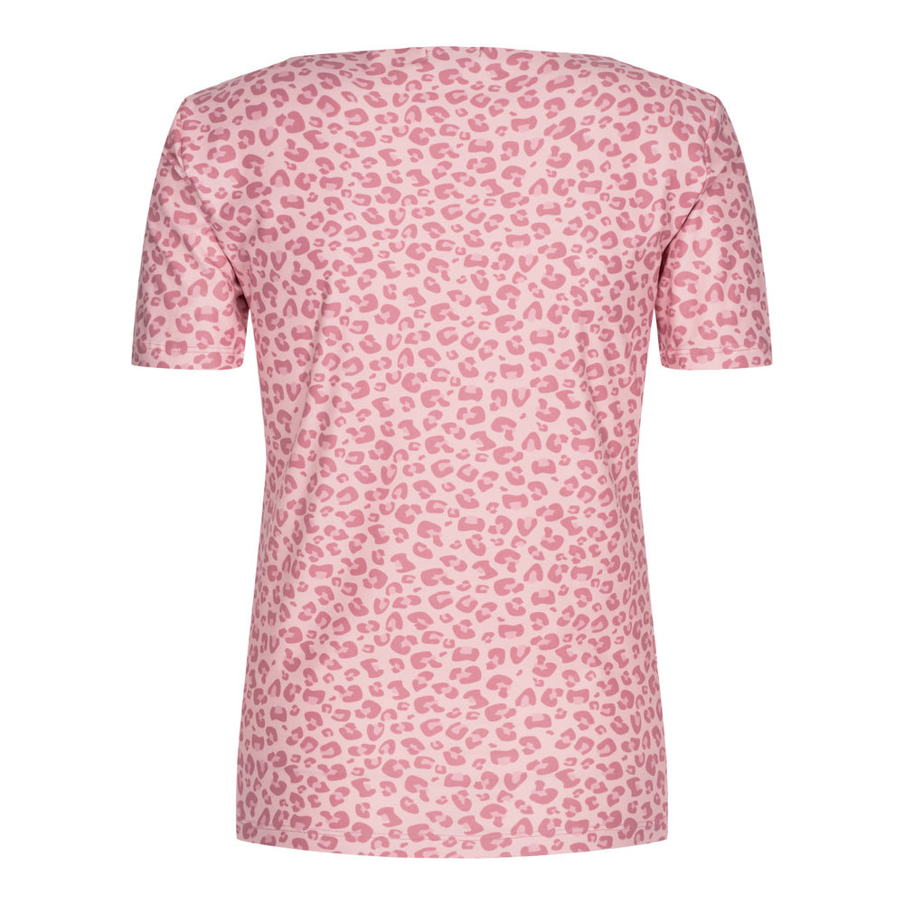Load image into Gallery viewer, ALMA-SLIMFIT-T-SHIRT - ROSE LEO