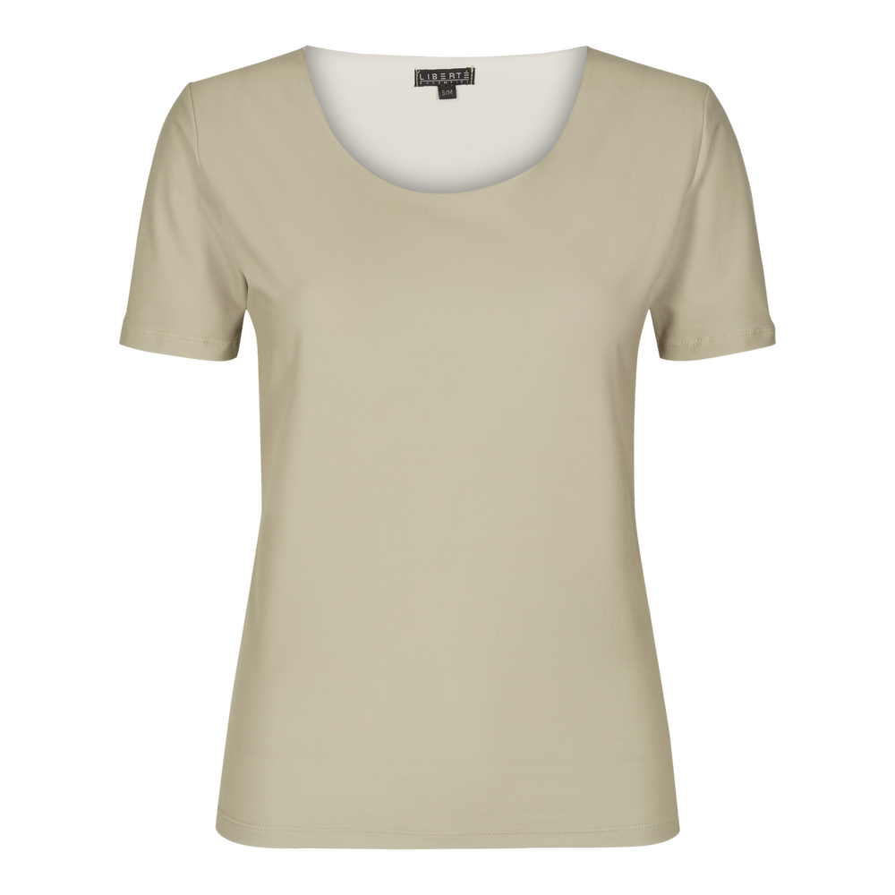 Load image into Gallery viewer, ALMA-SLIMFIT-T-SHIRT - SAND