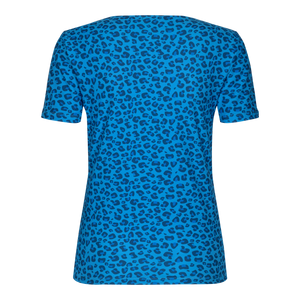 Load image into Gallery viewer, ALMA-SLIMFIT-T-SHIRT - SKY BLUE LEO