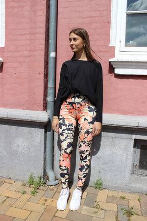 Load image into Gallery viewer, NICOLE-LEGGING - SAND ORANGE