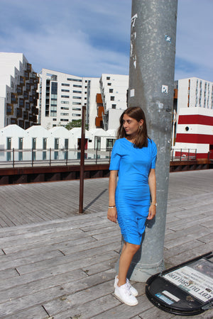 Load image into Gallery viewer, ALMA-DRESS3 - SKY BLUE
