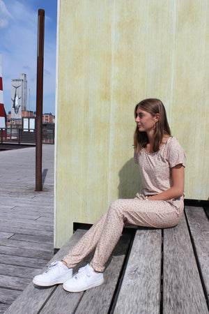 Load image into Gallery viewer, ALMA-JUMPSUIT - SAND LEO