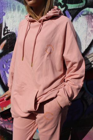 Load image into Gallery viewer, PENNY OVERSIZE HOODIE - ROSE