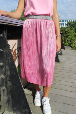 Load image into Gallery viewer, GITHA-SKIRT - Prism Pink