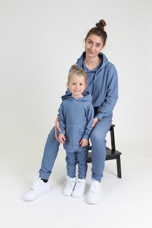 Load image into Gallery viewer, MELISSA-HOOD-KIDS - DUSTY BLUE