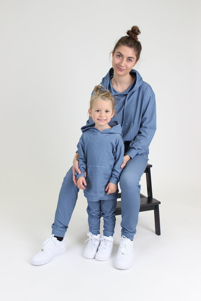 MELISSA-PANTS-KIDS - DUSTY BLUE