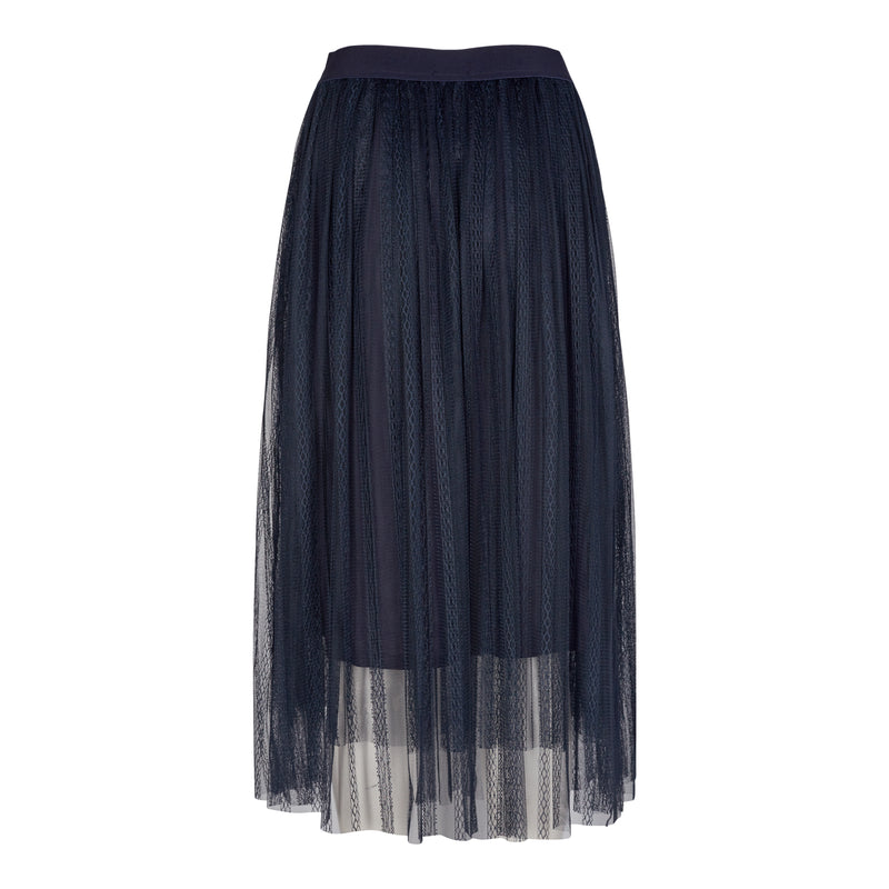 LUNA-SKIRT - NAVY