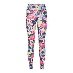 Load image into Gallery viewer, NICOLE-LEGGING - WHITE FLOWER