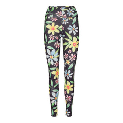 NICOLE-LEGGING - NAVY FLOWER