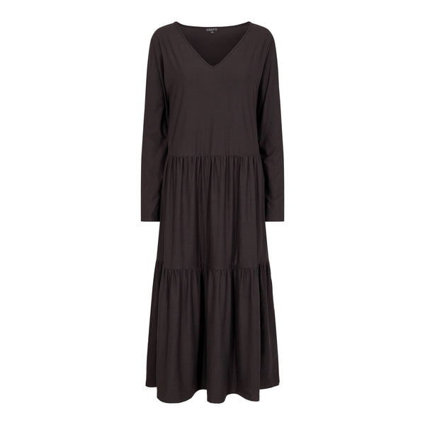 ALMA-LOOSE-DRESS - BLACK