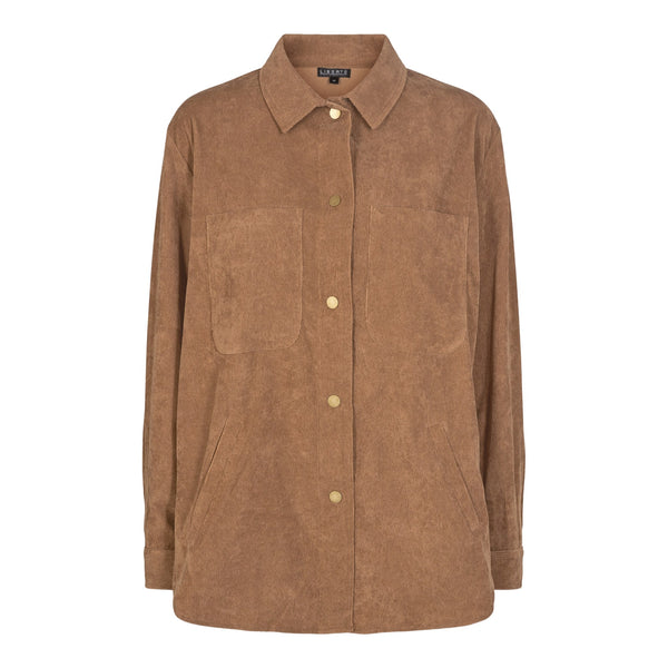 KAREN-SHIRT - BROWN