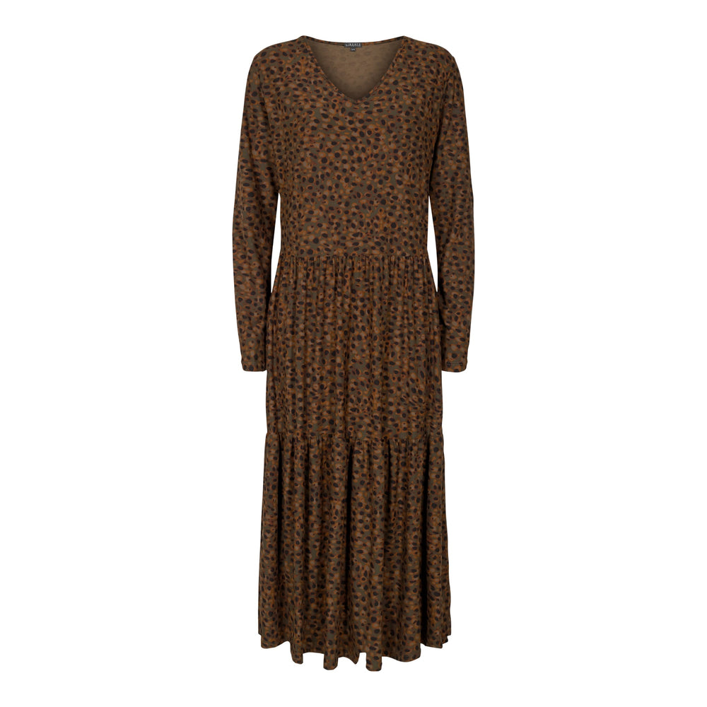 ALMA-LOOSE-DRESS - LEO/OLIVE