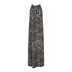 ALMA-MAXI-DRESS - BLACK/GREY